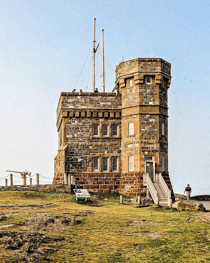 Cabot Tower by Richard Michael Lingo - Buildings & Architecture Public & Historical ( newfoundland, signal hill, cabot tower, building, tower )