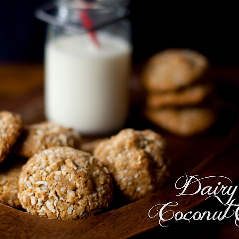 Dairy Free Double Coconut Cookies