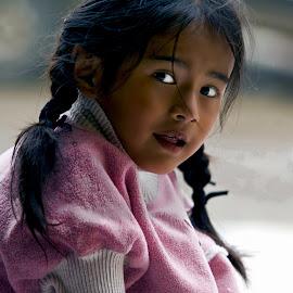 girl by Stanley P. - Babies & Children Children Candids ( sight, children, eye )