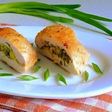 Chicken Fillet With Cheese And Herbs