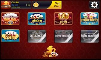 Screenshot of Ciao88