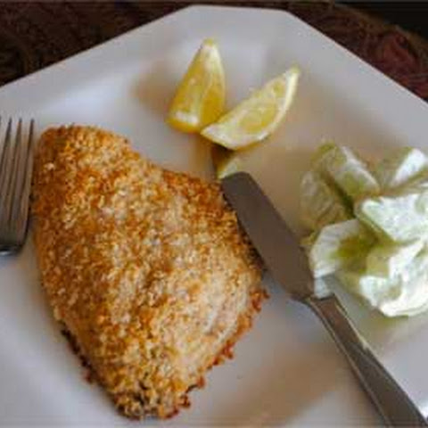 Parmesan Crusted Fish Fillets