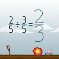 Dividing Fractions Math Game APK