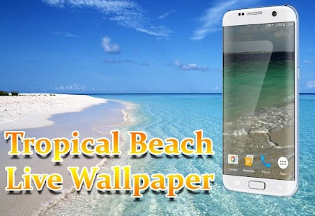 Tropical Beach Live Wallpaper - screenshot