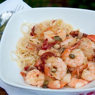 Shrimp Angel Hair Pasta Capers Recipes