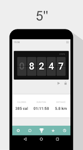 24/7 Pedometer Fitness app screenshot 1 for Android