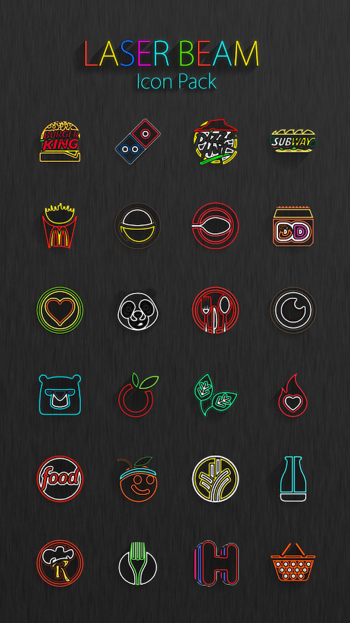 Laser Beam Icon Pack Screenshot 12