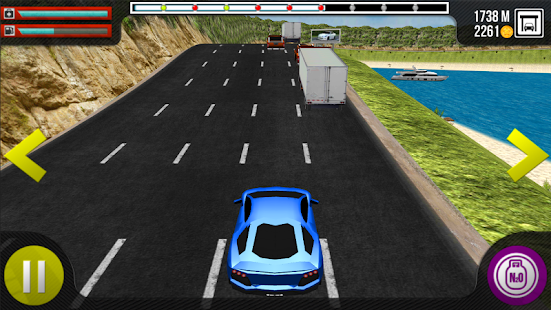 Fast Roads Nitro Racer - screenshot