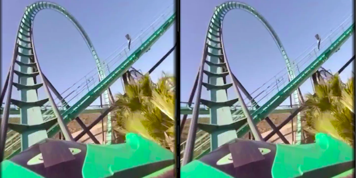 VR Thrills: Roller Coaster 360 apk screenshot