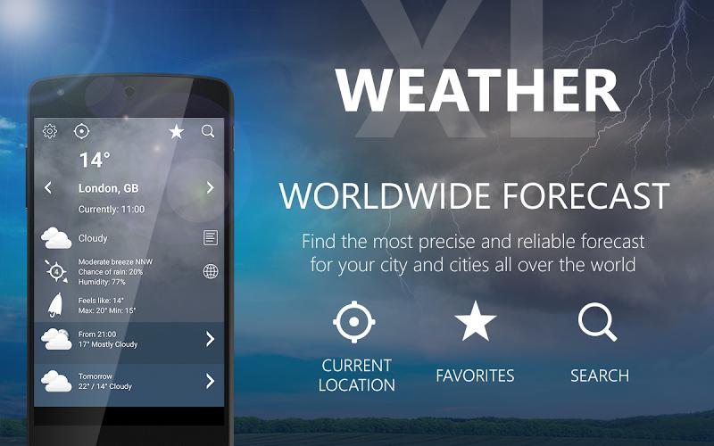 Weather XL PRO Screenshot 12