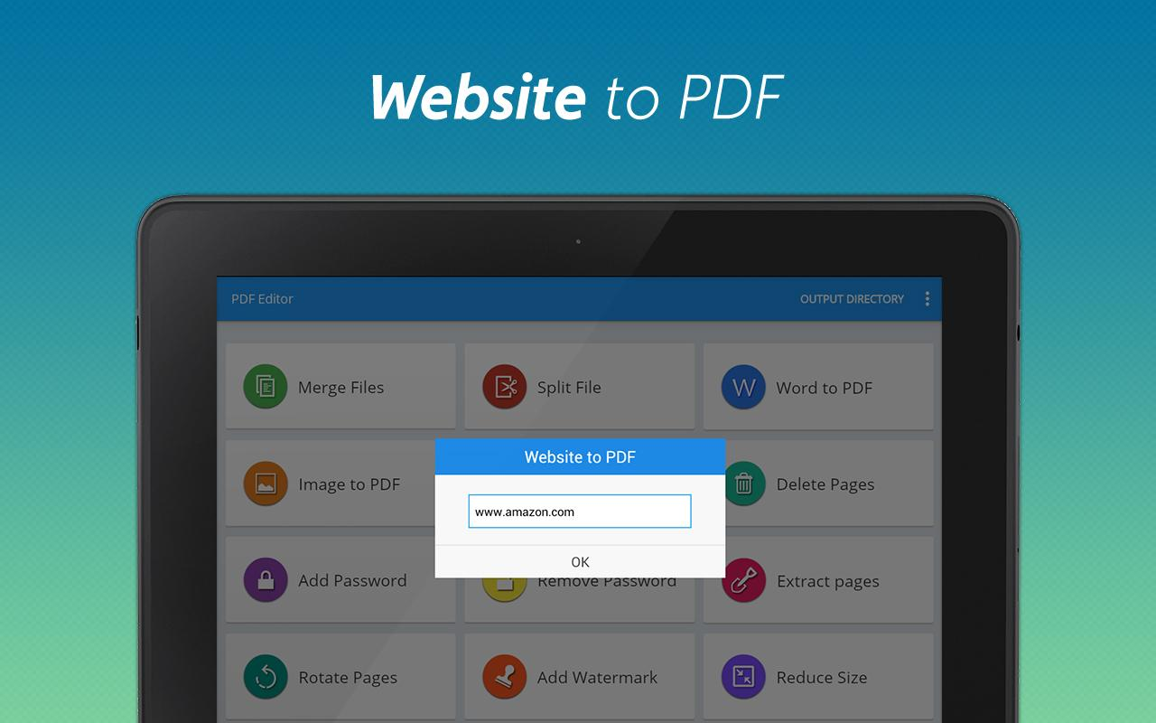 PDF Editor and PDF Converter Screenshot 10