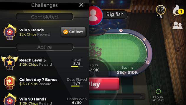 DTC Poker: Texas Holdem (Free Online Poker Game) apk screenshot
