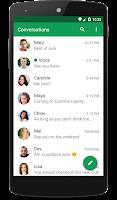 Screenshot of chomp SMS