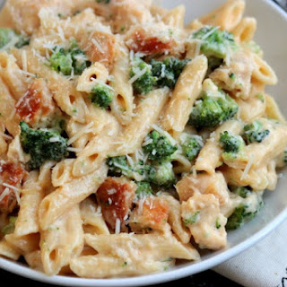 Chicken Broccoli Penne Alfredo Recipes