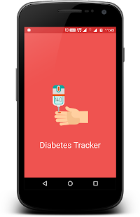 Diabetes Tracker screenshot for Android