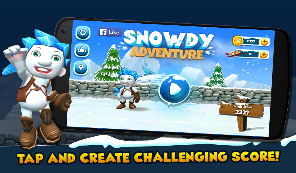 Snowdy's Adventure Screenshot 1