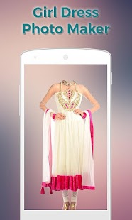 Girls Dress Photo Suit Maker- screenshot thumbnail