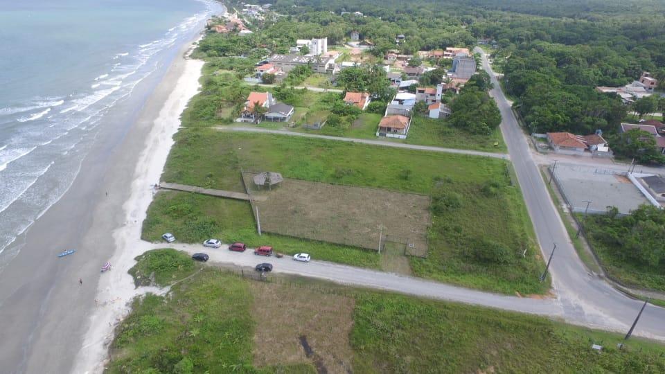 3 terrenos na quadra do mar (2 BEIRA MAR), pronto para construir !