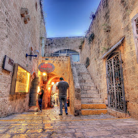 JAFFA by Joel Adolfo - City,  Street & Park  Street Scenes ( street&park, neighborhoods, city )