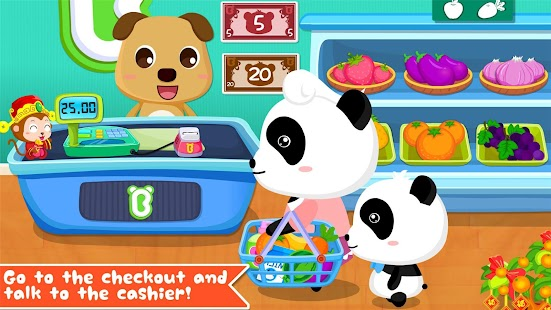 Free Download Baby Panda's Supermarket APK for Samsung