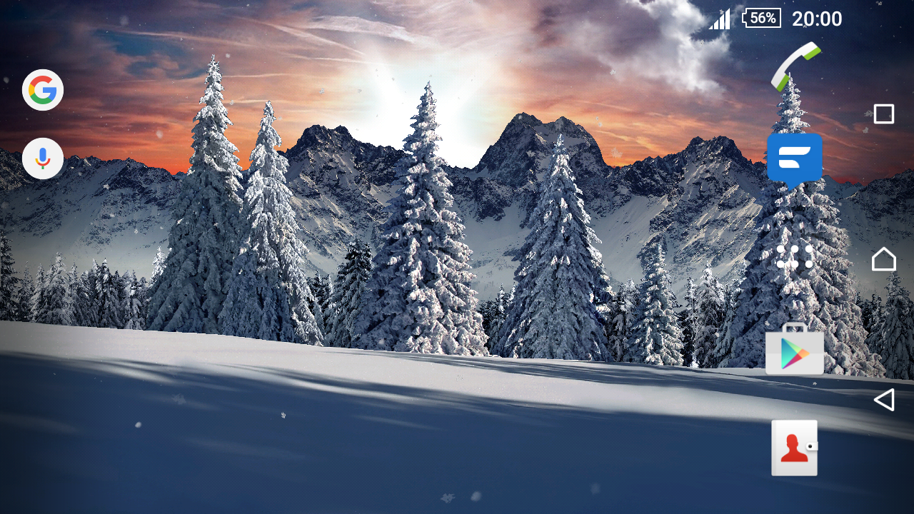 Real Snowfall Day Night PRO Screenshot 5