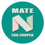 Mate Nougat for ZOOPER APK