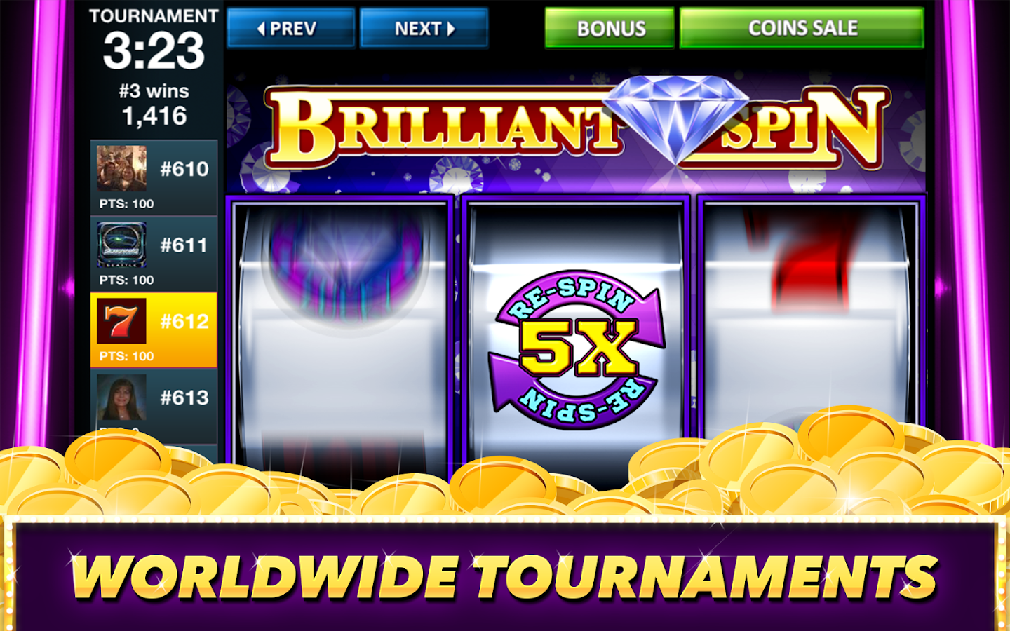 Best Classic Vegas Slots Game Screenshot