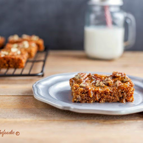 Paleo Turtle Blondies