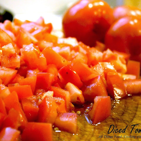 Petite Diced Tomatoes for Canning