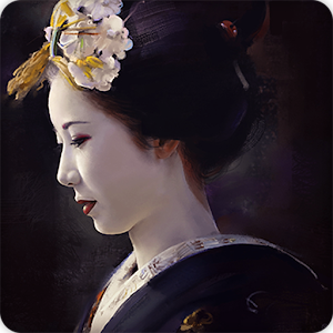 wallpaper geisha corals girl - photo #44
