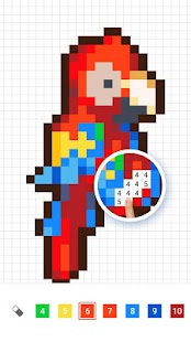 InDraw: Color by Number,Pixel Art,Sandbox Coloring for pc