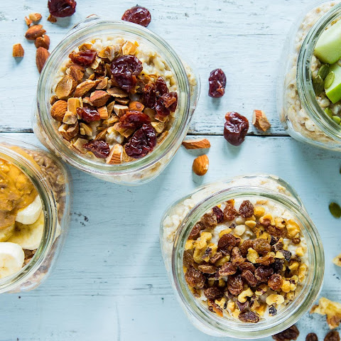 On-the-Go Mason Jar Oatmeal