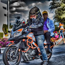 Predator Motorider by JethroLlarenas Abagao - Transportation Motorcycles