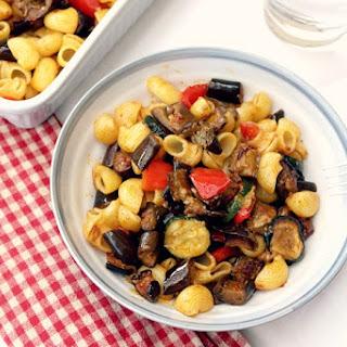 Roasted Mediterranean Vegetables Pasta Recipes