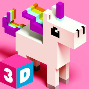 3D Color by Number with Voxels app for android