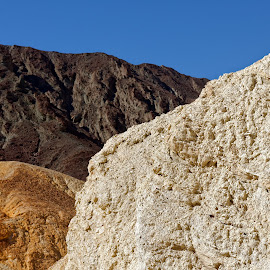 The colors of the earth by Johannes Oehl - Landscapes Deserts ( death valley, mountain, dry, america, colors, california, rock, usa, heat, united states of america, national park, wilderness, death valley national park, hostile, hot, brown, earth, dessert )