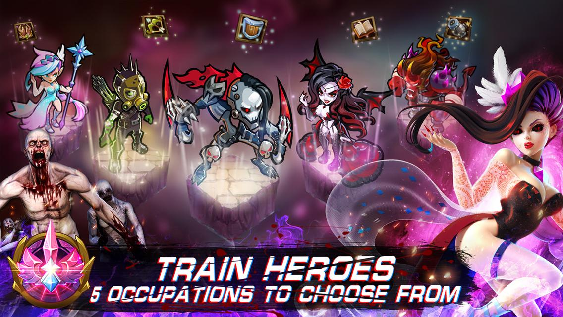 Magic Rush: Heroes Screenshot 2