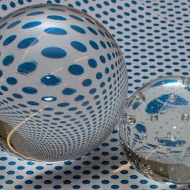 Orbs by Paul Ruane - Artistic Objects Glass ( spots, reflection, glass, reflections, orbs )