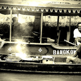 River Market @ Chao Praya River, Bangkok by Gracie Ho - People Street & Candids ( bangkok, chao praya, river market, people )