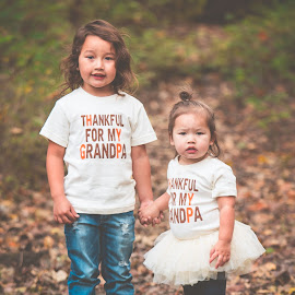 Big Brother Little Sister by Jenny Hammer - Babies & Children Children Candids ( sisters, girl, fall, brother, kids, siblings, cute, boy )