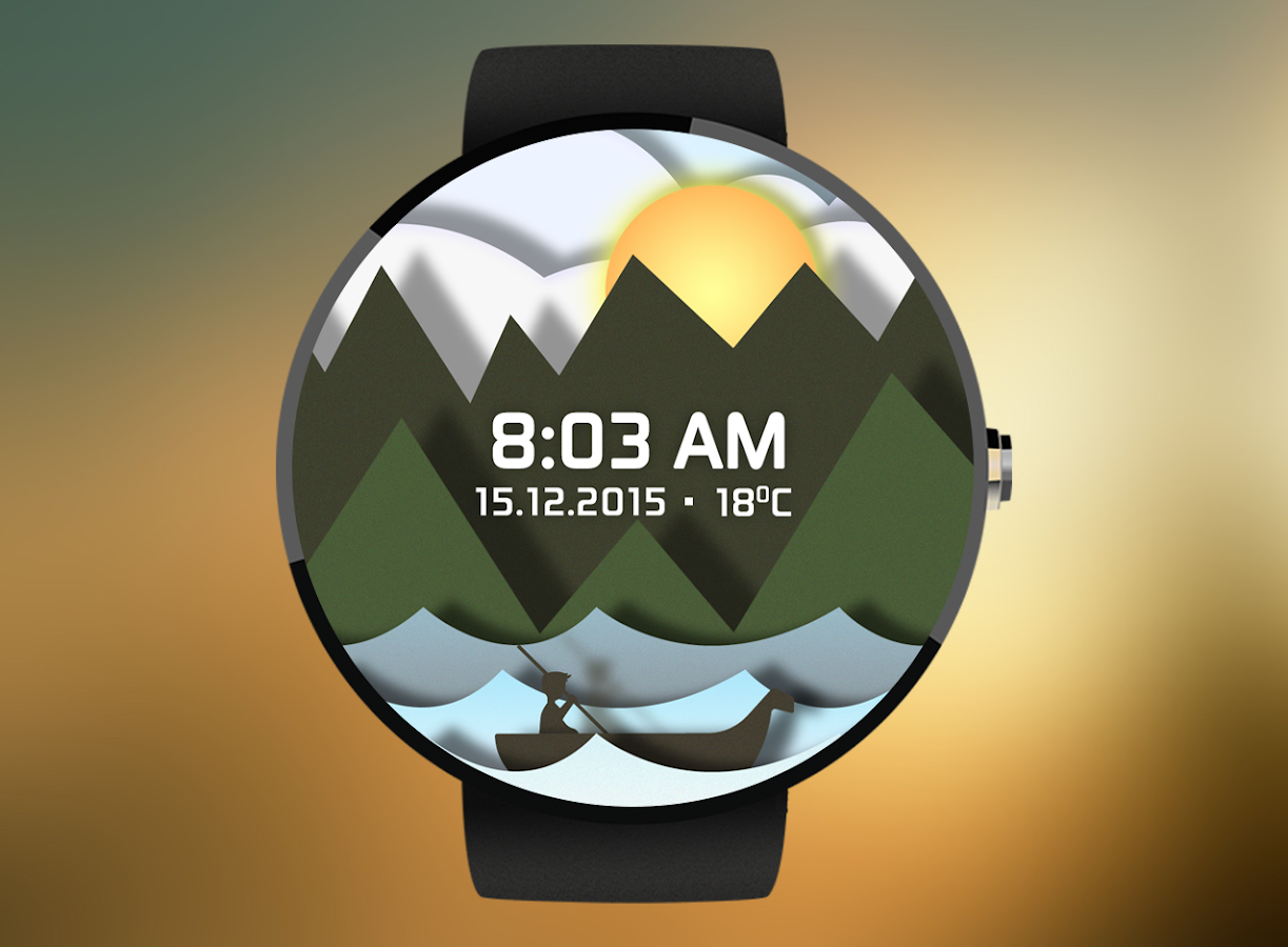 Time Sailor Animated Watchface Screenshot 5
