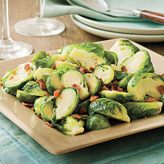 Bacon-Brown Sugar Brussels Sprouts