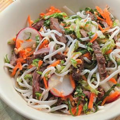Vietnamese Chicken & Noodle Salad Recipe | Yummly