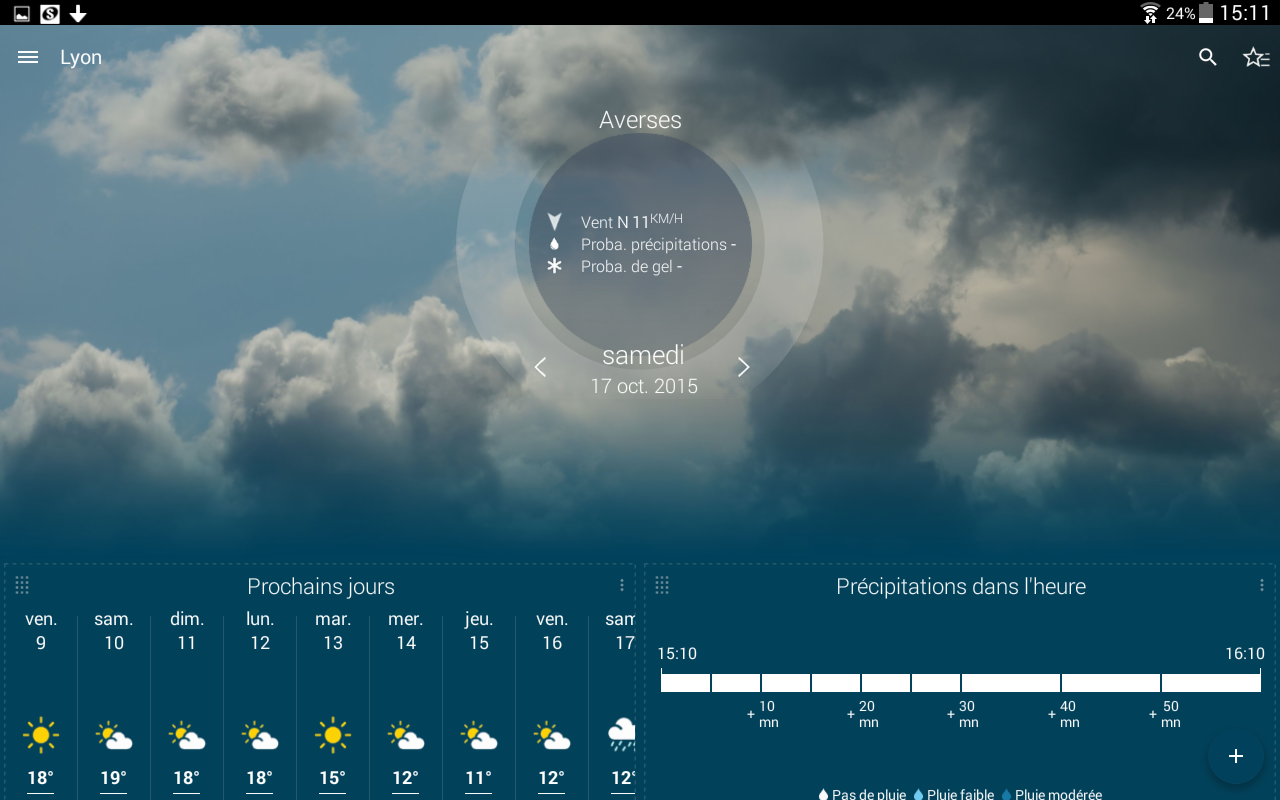 Météo-France Screenshot 9
