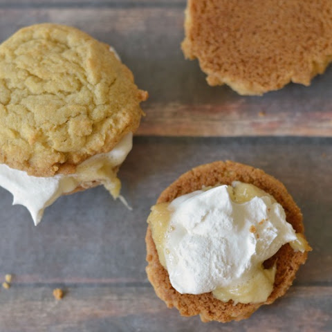 Gluten Free Grilled Banana Whoopie Pies