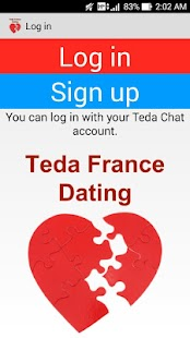 Teda France Dating and Love - screenshot