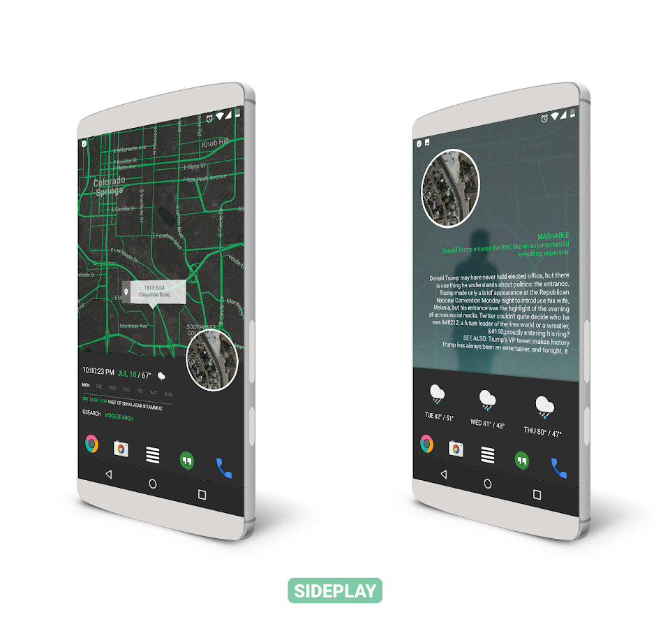 SidePlay for KLWP Screenshot 4