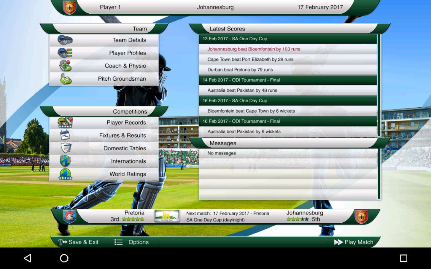 Cricket Captain 2016 Screenshot 16