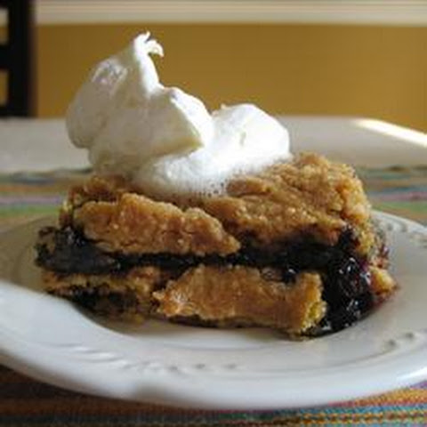 Blueberry Dump Cake (Crock Pot)