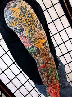 Japanese Tattoo Design - screenshot
